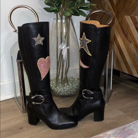 Gucci Shoes - Gucci Leather Boots